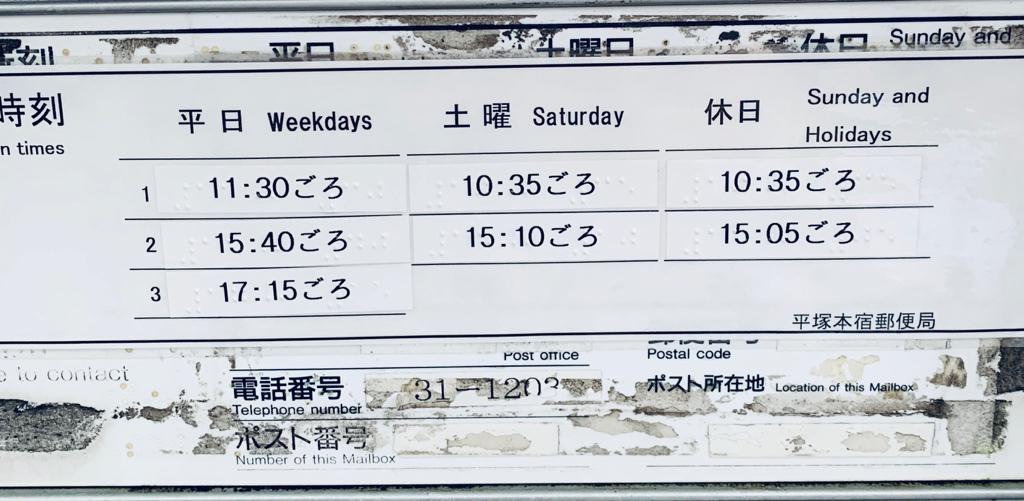 ポスト写真 :  : 平塚本宿郵便局の前 : 神奈川県平塚市平塚二丁目30-1