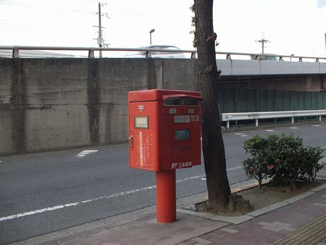 ポスト写真 : 阪急吹田駅東1(2007/12/07) : 阪急吹田駅東側 : 大阪府吹田市西の庄町