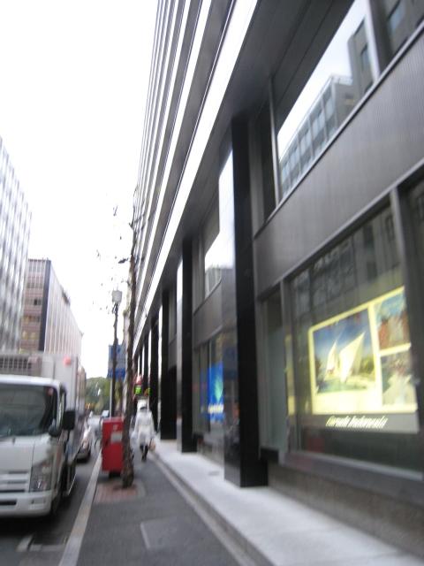 ポスト写真 : 新東京ビル前 [20080114] : 新東京ビル前 : 東京都千代田区丸の内三丁目3-1