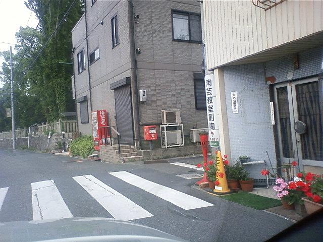 ポスト写真 : 2008年5月24日撮影 : 深川神社東 : 愛知県瀬戸市宮里町1