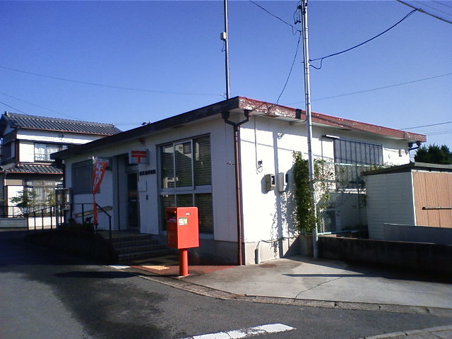 ポスト写真 : 2008年11月1日撮影  : 西光坊郵便局の前 : 愛知県稲沢市平和町西光坊(大門南)1001