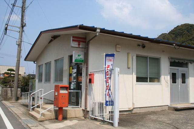 ポスト写真 : 三見郵便局の前 : 三見郵便局の前 : 山口県萩市三見2487