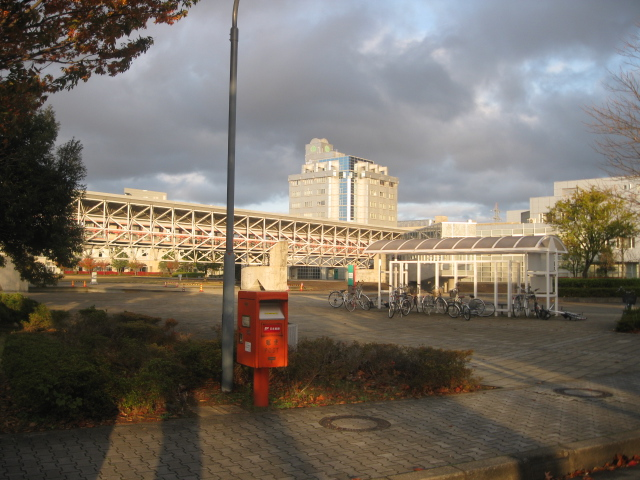 ポスト写真 :  : 福井県立大学永平寺キャンパス : 福井県吉田郡永平寺町松岡兼定島11