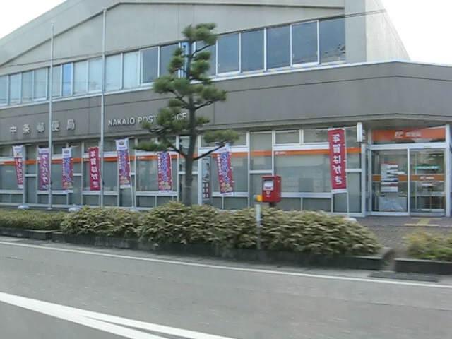 ポスト写真 : 中条郵便局の前 : 中条郵便局の前 : 新潟県胎内市東本町23-8