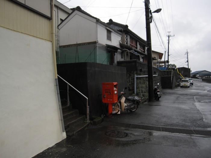 ポスト写真 : 旧・須崎簡易郵便局の前 : 旧・須崎簡易郵便局の前 : 静岡県下田市須崎565