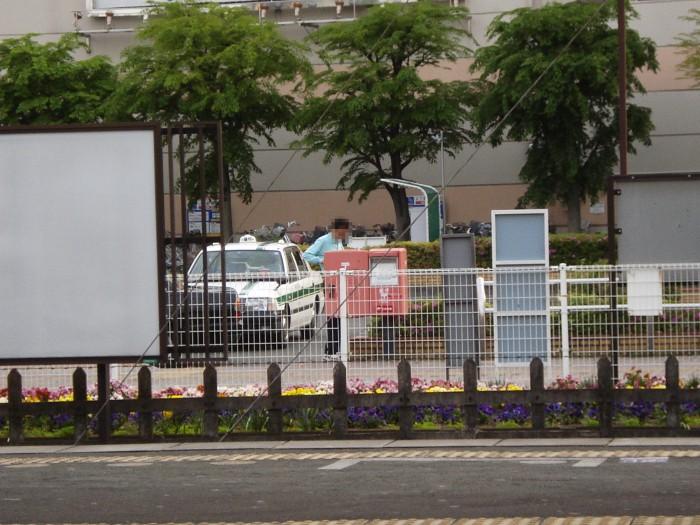 ポスト写真 :  : JR桶川駅西口ロータリー : 埼玉県桶川市若宮一丁目