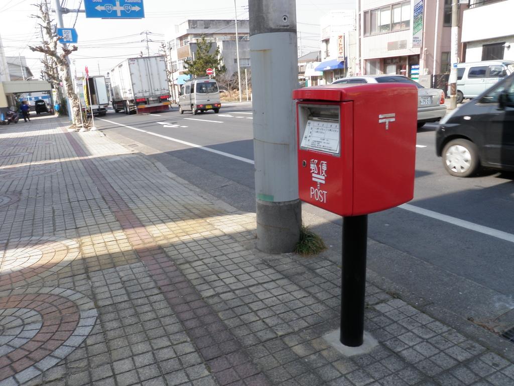 ポスト写真 : 長谷川酒店(2012/2/1) : 長谷川酒店 : 千葉県銚子市三軒町11-4