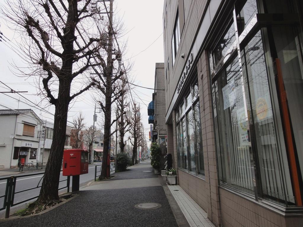 ポスト写真 :  : 大田中央七郵便局の前 : 東京都大田区中央七丁目4-3