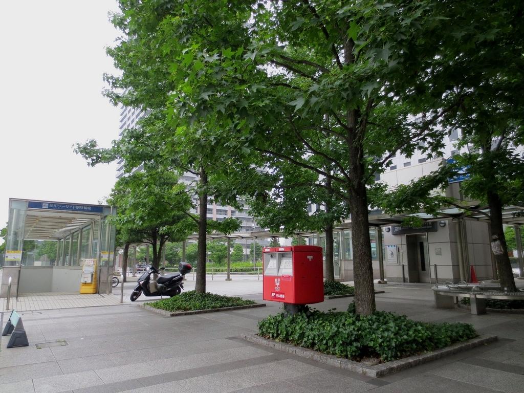 ポスト写真 :  : 品川シーサイド駅ロータリー : 東京都品川区東品川四丁目13-19