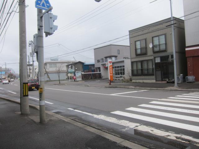 ポスト写真 :  : 室蘭築地郵便局の前 : 北海道室蘭市築地町138-67