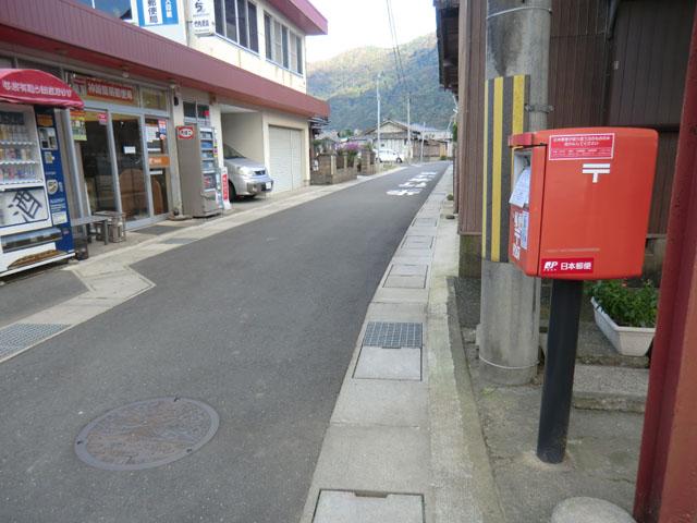 ポスト写真 : 神崎簡易郵便局前4(2014/10/28) : 神崎簡易郵便局の前 : 京都府舞鶴市西神崎