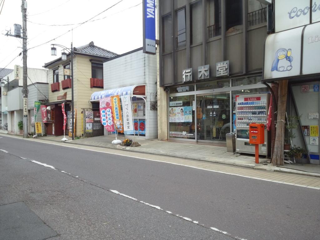 ポスト写真 : 行木堂 : 行木堂前 : 千葉県香取市佐原イ88