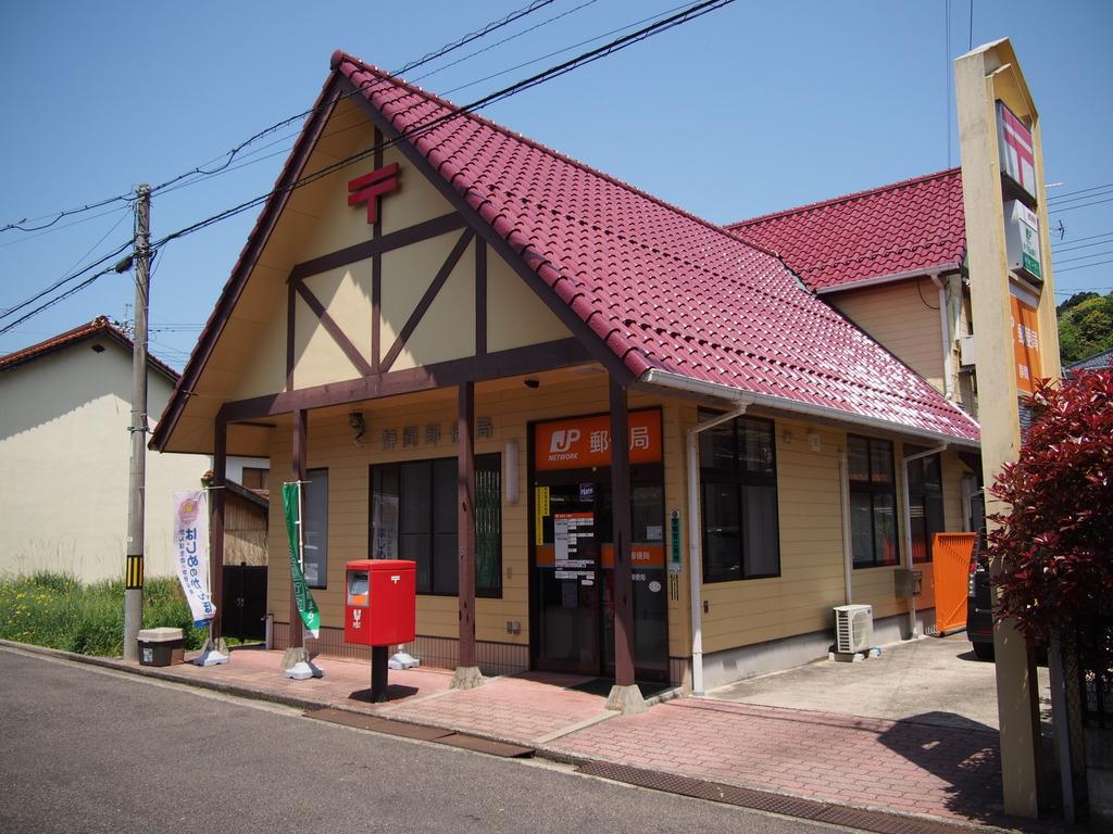 ポスト写真 :  : 静間郵便局の前 : 島根県大田市静間町1041-9