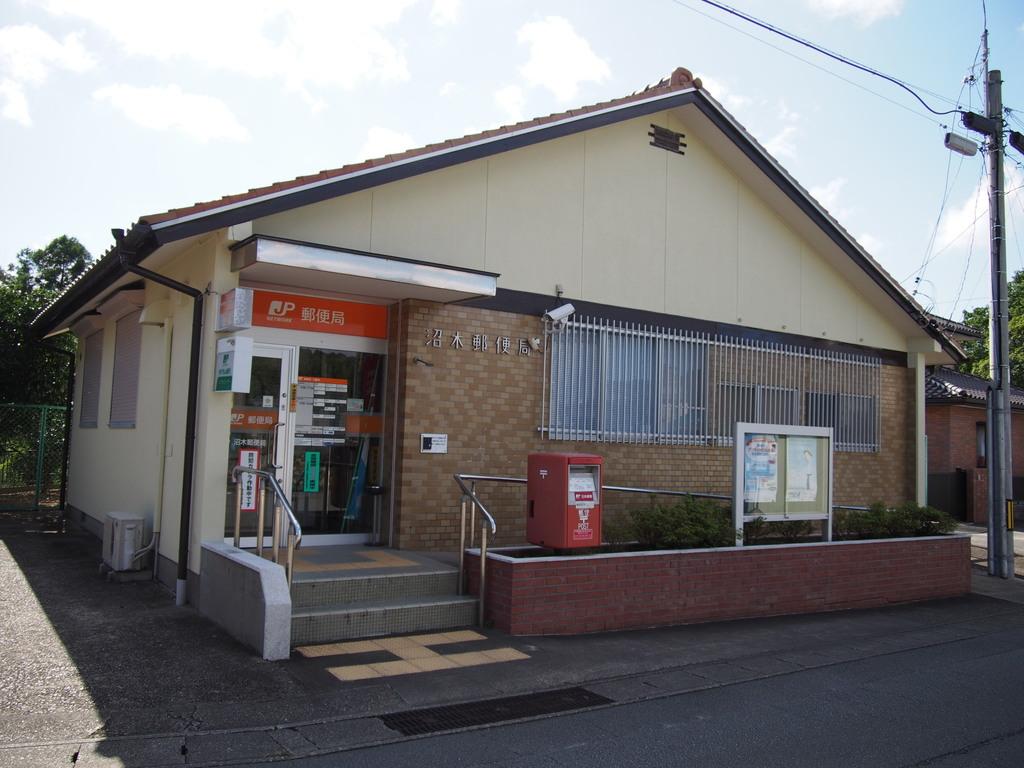 ポスト写真 : 沼木 : 沼木郵便局の前 : 三重県伊勢市上野町1356