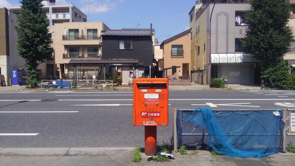 ポスト写真 : 2016/7/18 : 平岩畳店の前 : 東京都板橋区志村一丁目1-7