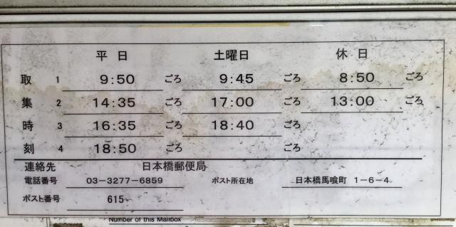 ポスト写真 :  : コンノ薬局 : 東京都中央区日本橋馬喰町一丁目6-4